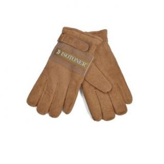 Suede Winter Glove by ISOTONER (Brown XL) at  Men�s Clothing store