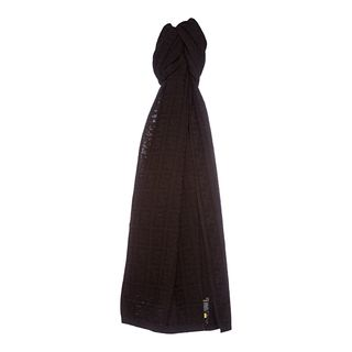 Fendi Zucca Knit Wool Scarf Fendi Designer Scarves & Wraps