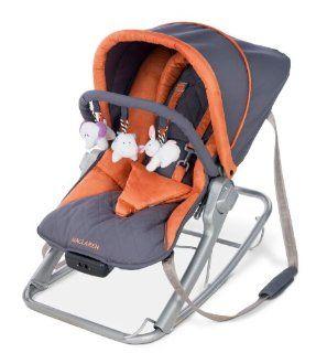 Maclaren Rocker   Charcoal/Burnt Orange  Baby