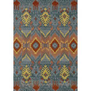 Hand tufted Arianna Blue Wool Rug (3'6 x 5'6) Alexander Home 3x5   4x6 Rugs