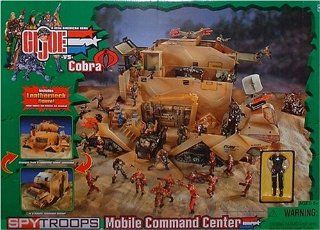 G.I. Joe Spy Troops Mobile Command Center with Exclusive Leatherneck Action Figure: Toys & Games