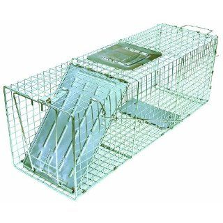 "JT Eaton 495 Answer Galvanized Steel Wire Single Door Professional Live Animal Cage Trap, 41"" Length x 15"" Width x 15"" Depth: Science Lab Cleaning Supplies: Industrial & Scientific"
