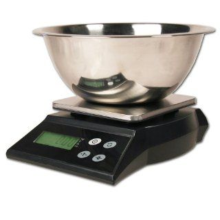 "ZIEIS  13 lb / 6000g Capacity  Multi Purpose Digital Kitchen Scale  Z136  5.7"" X 5.7"" Stainless Steel Platform  3 Quart Stainless Steel Bowl  Z Seal Plus  Programmable Power  AC/DC  110V Adapter  Surge Protector  TEN (10) Year Warranty"