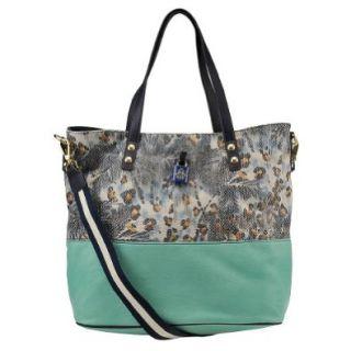 Jessica Simpson Getaway JS4321 BHMLT Tote, Capri Ocean Multi, One Size Shoulder Handbags Shoes