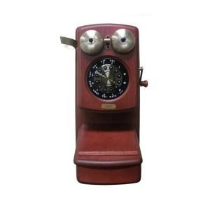 Golden Eagle Country Wood Corded Phone   Mahogany GOLD GEE 8705D