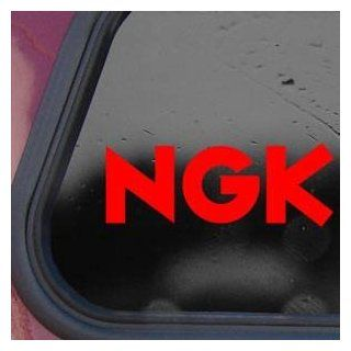 NGK Red Sticker Decal Suzuki Honda Yamaha GSXR 1000 750 600 Red Sticker Decal   Decorative Wall Appliques