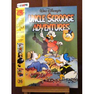 Walt Disney's Uncle Scrooge Adventures Uncle Scrooge McDuck #35: The Golden Nugget Boat and The Midas Touch: Carl Barks: Books
