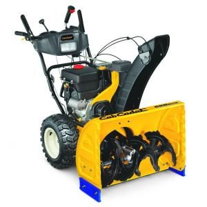 Cub Cadet 28 in. Two Stage Electric Start Gas Snow Blower with Power Steering DISCONTINUED 2X 528 SWE