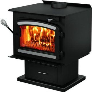 Drolet Classic Wood Stove with Blower   75, 000 BTU, EPA Certified, Model# DB0  Chimney Brushes