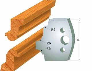 CMT 690.542 Pair of Profiled Knives for Shaper Cutters, 1 31/32 Inch Cutting Length and 5/32 Inch Thickness   Power Shaper Cutters