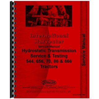 Farmall 544 Tractor Hydrostatic Service Manual Jensales Ag Products Books
