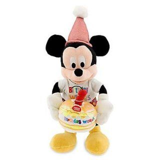 Disney Musical Birthday Mickey Mouse Plush Toys & Games