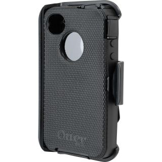 OTTERBOX Defender Series Hard Phone Case   iPhone 4/4S, Black