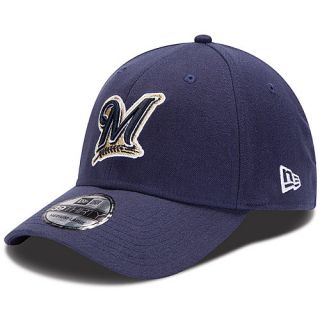 NEW ERA Mens Milwaukee Brewers 39THIRTY Team Tonal Reverse Alternate Logo