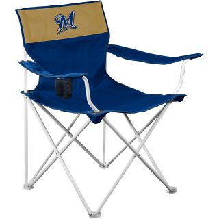 Logo Chair Milwaukee Brewers Canvas Chair (516 13)