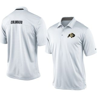 NIKE Mens Colorado Buffaloes Dri FIT Coaches Polo Size Medium 3d70b68b0