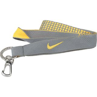 NIKE Graphic Lanyard, Cool Grey/orange