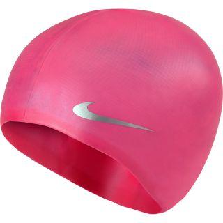 NIKE Youth Silicone Flat Swim Cap Size Junior a2f05493946