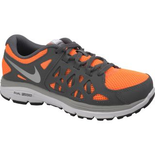 new arrival 784bf 0961b NIKE Boys Dual Fusion Run 2 Running Shoes Size 6, Orange grey