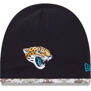 NEW ERA Mens Jacksonville Jaguars Salute To Service Camo Lining Tech Knit  Hat eebb28f25