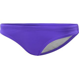 NIKE Womens Perfect Solids Skimpy Briefs   Size Large, Pure Purple