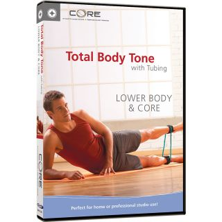 STOTT PILATES Total Body Toning with Tubing; Lower Body & Core (DV 81228)