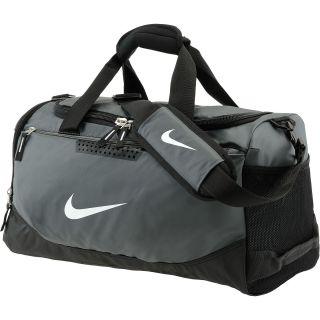 NIKE Team Training Max Air Duffle Bag Medium Size Small, Flint Grey black  ... 46e9536eb2