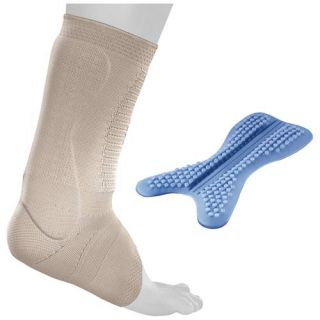 Bauerfeind AchilloTrain Pro Achilles Tendon Support   Size: 4, Nature