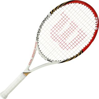 WILSON Pro Staff Six.One 100 BLX Tennis Racket   Size: 3, White/red