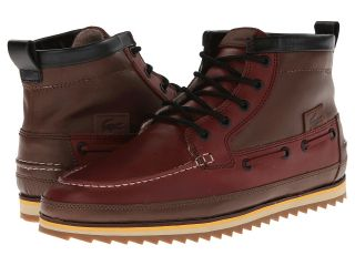 Lacoste Sauville Mid 5 Mens Shoes (Brown)