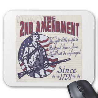 2nd Amendment Pro Guns Shirts and Gifts Mouse Pad
