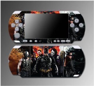 Batman The Dark Knight Rises Joker Catwoman Video Game Vinyl Decal Sticker Cover Skin Protector for Sony PSP Slim 3000 3001 3002 3003 3004 Playstation Portable Video Games
