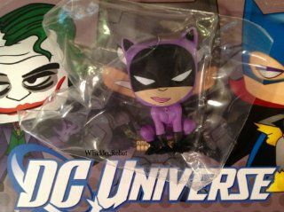 DC Universe Funko Mystery Minis Catwoman   Crouching Mouth Closed Vinyl Figure: Toys & Games
