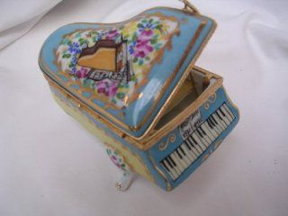 """Piano Music Box Porcelain Doll House Furniture 4"""" Collectible ; """"Fur Elise"""" Beethoven  Other Products"""
