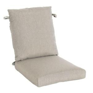 Hampton Bay Marwood Replacement Outdoor Dining Chair Cushion 131 008 DC CSH