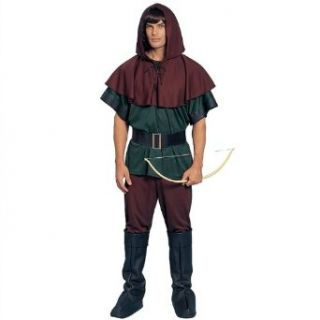 Robin Hood Adult Halloween Costume Size Standard Clothing