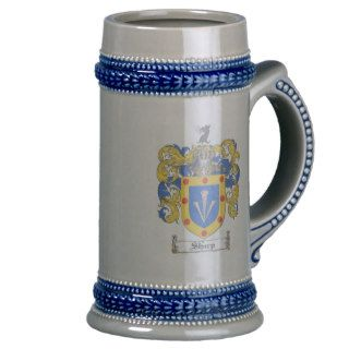 Sharp Coat of Arms Stein Mug