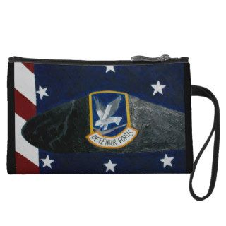 U.S. Air Force Security Forces Wristlet Purse