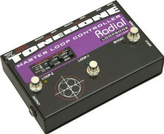 Radial Tonebone Loopbone Effects Pedal Looper Pedalboard Master Control With Slingshot Remote Musical Instruments