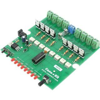 CanaKit CK570   8 Channel / 20 Program AC Light Chaser / Controller (Electronic Kit   Requires Assembly)  Other Electronics