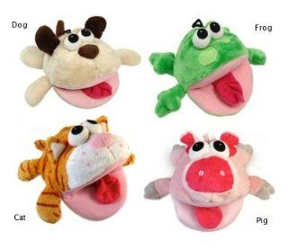 Vo Toys Bite Me Big Mouth Pig with Sound Chip 7in Dog Toy : Pet Squeak Toys : Pet Supplies