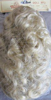 "Tallina's Craft DOLL HAIR WIG Style WTA 8 Fits SIZE 12"" Color LT. BLONDE (Long Wavy/Curly Hair) (Circa 1990's)"