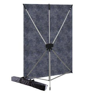 Westcott 575K X Drop Kit with 5 x 7 Feet Slate Backdrop (Purple/Silver)  Photo Studio Backgrounds  Camera & Photo