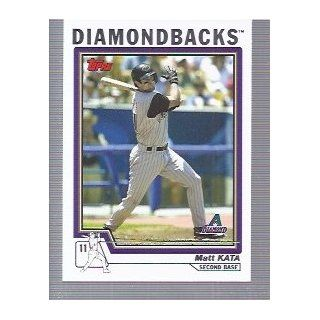2004 Topps #562 Matt Kata Arizona Diamondbacks: Sports Collectibles