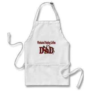 Wirehaired Pointing Griffon Dad Aprons