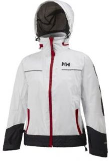 Helly Hansen Women's Hydro Power Jacket, 001 White, Large Sports & Outdoors