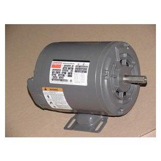 DAYTON 3N591A 3/4 HP ELECTRIC MOTOR 208 220/440 VOLT 3450 RPM   Electric Fan Motors