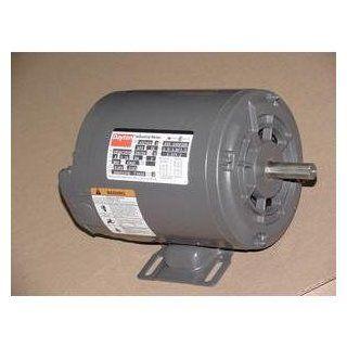 DAYTON 3N591A 3/4 HP ELECTRIC MOTOR 208 220/440 VOLT 3450 RPM   Electric Fan Motors