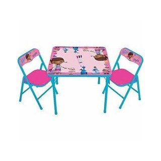 Doc McStuffins Erasable Activity Table and Chair Set: Toys & Games