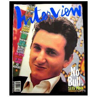 Interview Magazine, Vol. XXI No. 9, September 1991, Sean Penn Cover: Stephen Greco, Dimitri Ehrlich, Sophie B. Hawkins, Julian Schnabel, Manolo Blahnik, Jeff Yarbrough, Amanda Donohoe, Susan Morgan, Joe Cocker, Hanna Schygulla, Sandra J. Brant, David LaCha